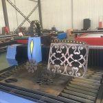 máy cắt ống ánh sáng tự động / máy cắt hồ sơ cnc cnc / máy cắt plasma