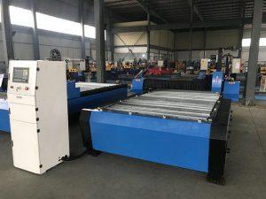 Trung Quốc 1325 1530 giá rẻ đèn pin điều khiển chiều cao plasma huayuan kim loại thép cắt máy cnc plasma