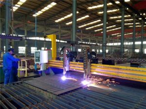 Cổng cắt CNC Plasma và máy cắt ngọn lửa cho thép tấm