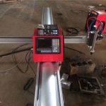 Máy cắt thép di động cnc plasma cắt di động cnc máy cắt ngọn lửa với chi phí bị mất cho cắt kim loại
