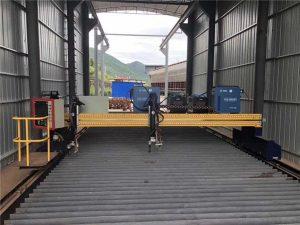 Máy cắt plasma CNC chính xác 13000mm với động cơ Servo