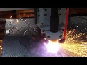 Máy cắt ngọn lửa plasma cnc với nước làm mát để bán nóng