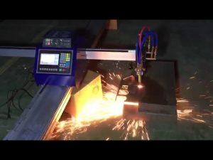 giá rẻ máy xách tay mini cnc ngọn lửa cắt plasma để cắt thép không gỉ