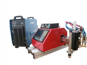 Máy plasma di động cnc, gas, ngọn lửa, máy cắt kim loại tấm oxgen với THC